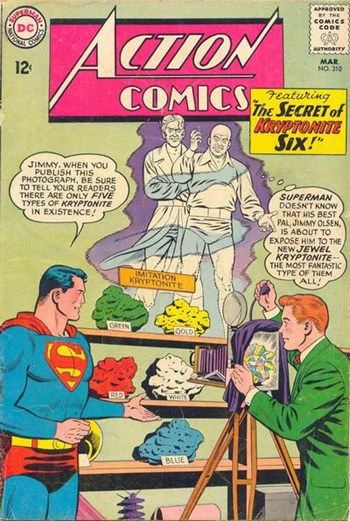 The Secret of Kryptonite Six!