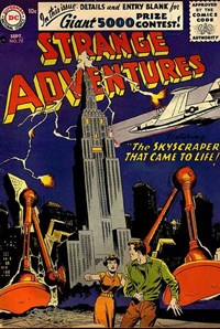 Strange Adventures (DC, 1950 series) #72 — The Skyscraper That Came to Life!
