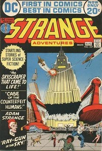 Strange Adventures (DC, 1950 series) #237 — The Skyscraper That Came to Life!