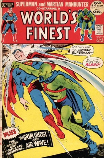World's Finest Comics (DC, 1941 series) #212 (June 1972)