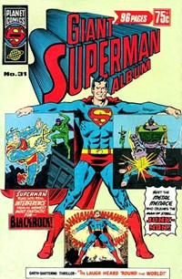 Giant Superman Album (KG Murray, 1973? series) #31 — No title recorded