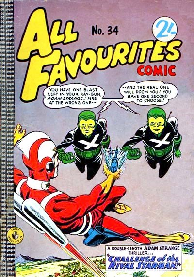 All Favourites Comic (Colour Comics, 1960 series) #34 ([December 1962?])
