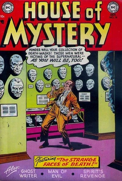 House of Mystery (DC, 1951 series) #19 (October 1953)