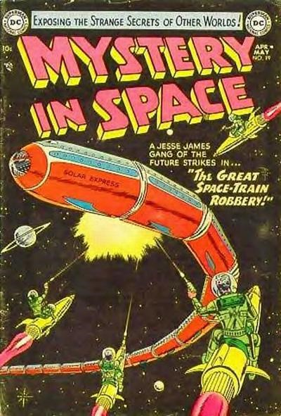 Mystery in Space (DC, 1951 series) #19 (April-May 1954)