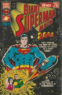 "Giant Superman Album (Murray, 1978? series) #34 — Letters amended to refer to ""Today in 1978"""