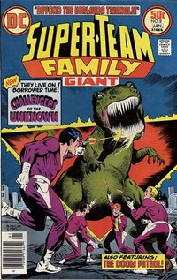 Super-Team Family (DC, 1975 series) #8 (December 1976-January 1977)
