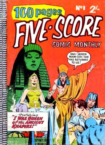 Five-Score Comic Monthly (Colour Comics, 1958 series) #1 ([May 1958?])