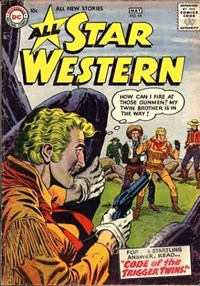 All Star Western (DC, 1951 series) #94 — Code of the Trigger Twins (Cover)