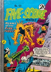 Five-Score Comic Monthly (Colour Comics, 1961 series) #50 — No title recorded