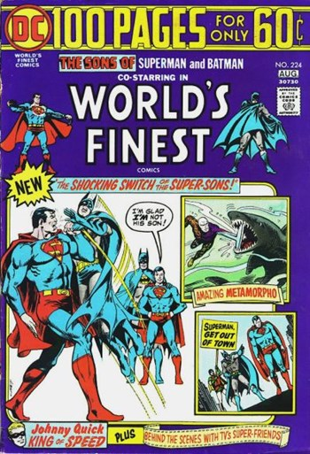 World's Finest Comics (DC, 1941 series) #224 (July-August 1974)