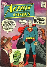 Action Comics (DC, 1938 series) #239 — Superman's New Face