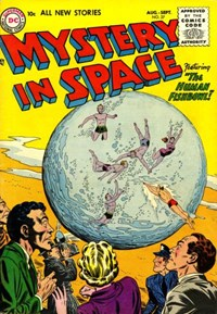 Mystery in Space (DC, 1951 series) #27 (August-September 1955)