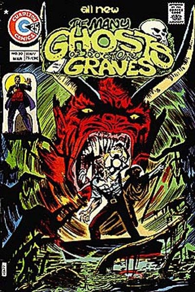 The Many Ghosts of Dr. Graves (Charlton, 1967 series) #50 (March 1975)