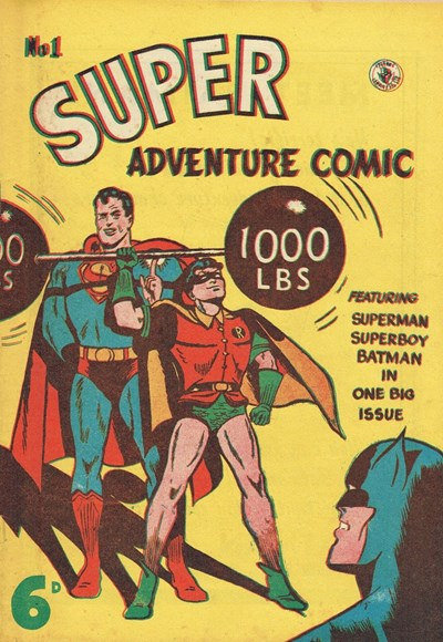 Super Adventure Comic (Color Comics, 1950 series) #1 ([June 1950?])