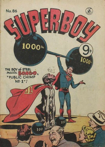 Public Chimp No. 1—Superboy (Colour Comics, 1950 series) #86  ([April 1956])