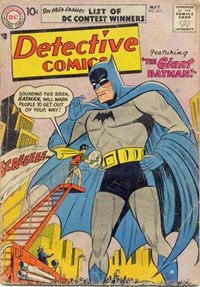 Detective Comics (DC, 1937 series) #243 — The Giant Batman