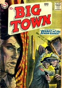 Big Town (DC, 1951 series) #46 — Secret of the Seven Clues