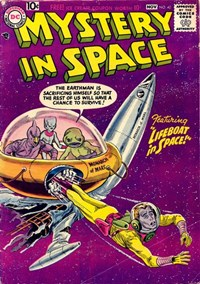Mystery in Space (DC, 1951 series) #40 (October-November 1957)