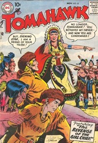 Tomahawk (DC, 1950 series) #52 — The Revenge of the Girl Chief!