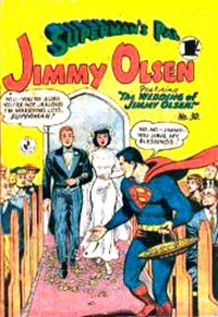 Superman's Pal, Jimmy Olsen (Colour Comics, 1955 series) #30 — No title recorded
