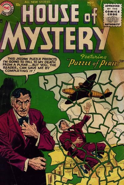 House of Mystery (DC, 1951 series) #44 (November 1955)