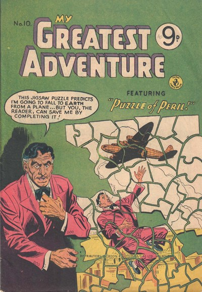 My Greatest Adventure (Colour Comics, 1955 series) #10 ([January 1956])