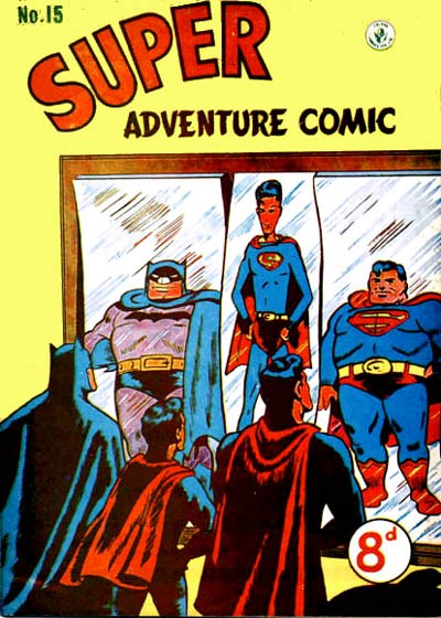 Super Adventure Comic (Colour Comics, 1950 series) #15 ([September 1951])