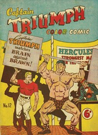Captain Triumph Color Comic (Color Comics, 1948 series) #12