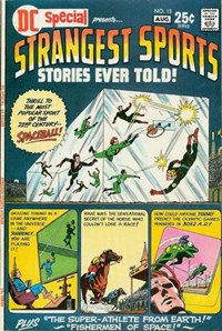 DC Special (DC, 1968 series) #13 — Strangest Sports Stories Ever Told!