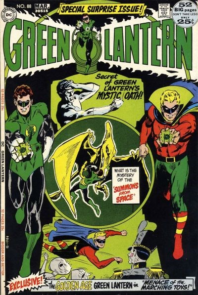 Green Lantern (DC, 1960 series) #88 (February-March 1972)