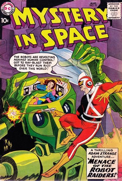 Mystery in Space (DC, 1951 series) #53 (August 1959)