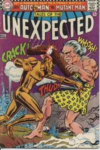 Tales of the Unexpected (DC, 1956 series) #97 — Automan vs. Mutant-Man!