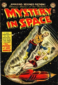 Mystery in Space (DC, 1951 series) #5 — The Outcast of Lost World!