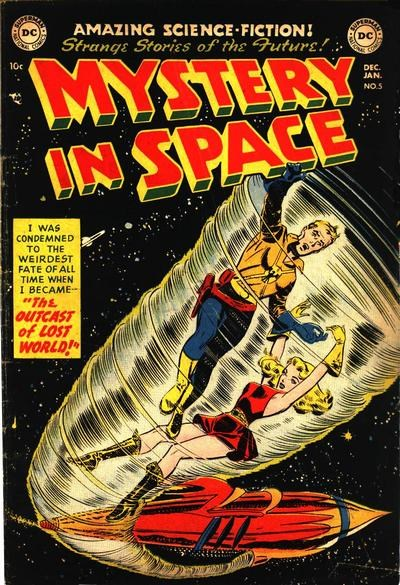Mystery in Space (DC, 1951 series) #5 (December 1951-January 1952)