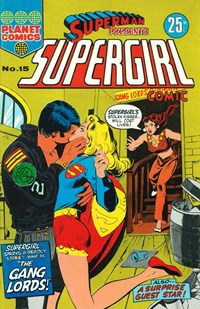Superman Presents Supergirl Comic (KG Murray, 1973 series) #15 — The Gang Lords!