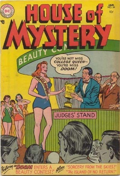 House of Mystery (DC, 1951 series) #34 (January 1955)