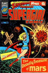 Superman Presents Supergirl Comic (KG Murray, 1973 series) #26 — No title recorded
