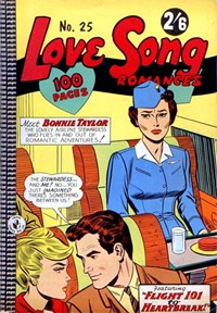 Love Song Romances (Colour Comics, 1959 series) #25 ([January 1964?])