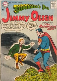 Superman's Pal, Jimmy Olsen (DC, 1954 series) #17 — The Radioactive Boy!