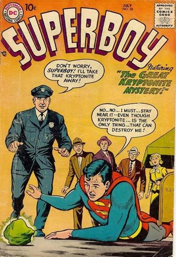 The Great Kryptonite Mystery!
