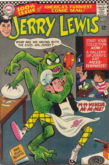The Adventures of Jerry Lewis (DC, 1957 series) #100 (June 1967)