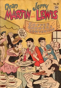 The Adventures of Dean Martin and Jerry Lewis (Frew, 1956 series) #22 ([October 1957?])
