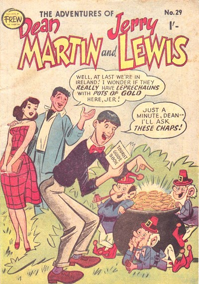 The Adventures of Dean Martin and Jerry Lewis (Frew, 1956 series) #29 ([May 1958?])