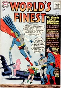 World's Finest Comics (DC, 1941 series) #142 — The Origin of the Composite Superman!