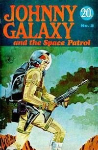 Johnny Galaxy and the Space Patrol (Sport Magazine, 1968 series) #3 — Untitled (Cover)