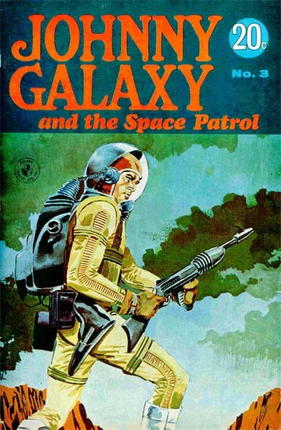 Johnny Galaxy and the Space Patrol (Sport Magazine, 1968 series) #3 ([February 1968?])