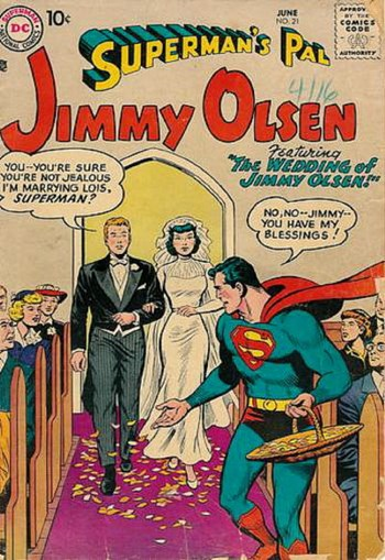 Superman's Pal, Jimmy Olsen (DC, 1954 series) #21 (June 1957)