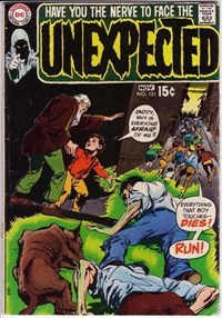 The Unexpected (DC, 1968 series) #121 (October-November 1970)