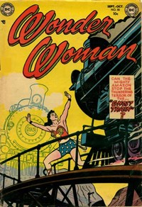 Wonder Woman (DC, 1942 series) #55 — Ghost Train (Cover)