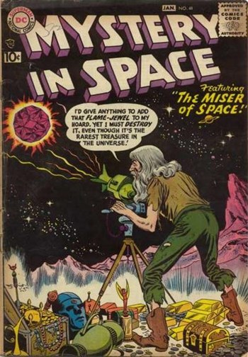 Mystery in Space (DC, 1951 series) #41 (December 1957-January 1958)